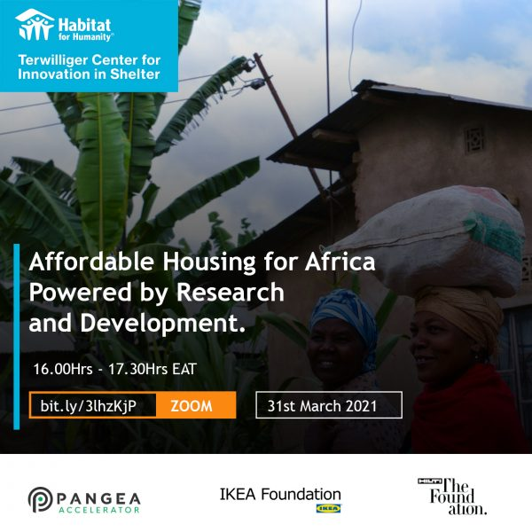 Affordable Housing for Africa poster 2